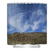 Arizona Foothill Sky Shower Curtain