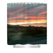Arizona Highway Shower Curtain
