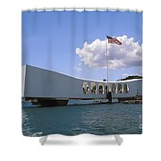 Arizona Memorial Shower Curtain