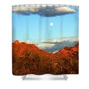 Arizona Moon Shower Curtain