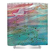 Arizona Oil 3 Shower Curtain