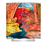 Arizona Rainbow Shower Curtain