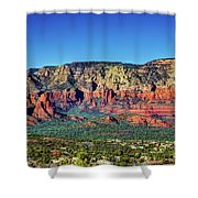Arizona Rest Stop Shower Curtain