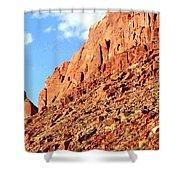 Arizona Sandstone Shower Curtain