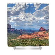 Arizona-sedona Shower Curtain