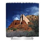 Arizona, Sedona  Chapel Of The Holy Cross Shower Curtain