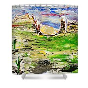 Arizona Skies Shower Curtain