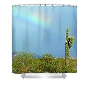Arizona Sunday Afternoon Shower Curtain