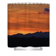 Arizona Sunset 12 Shower Curtain