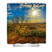 Arizona Sunset 28 Shower Curtain