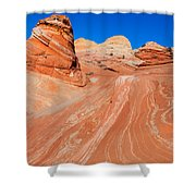 Arizona-utah- North Coyote Buttesthe Wave Shower Curtain