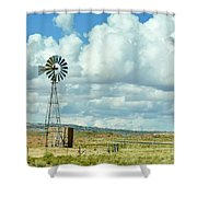 Arizona Windmill Shower Curtain