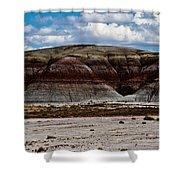 Arizona's Painted Desert #3 Shower Curtain