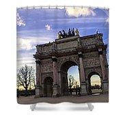 Ark Shower Curtain by Milan Mirkovic