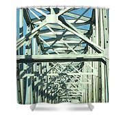 Arkansas Side Of Helena Bridge 1 Shower Curtain
