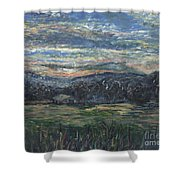 Arkansas Sunrise Shower Curtain