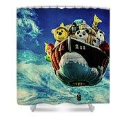 Arky  Noah's Ark Shower Curtain
