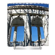 Arlington Amphitheater From The Outside Shower Curtain