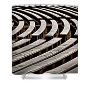 Arlington Cemetery Amphitheater Benches #2 Shower Curtain