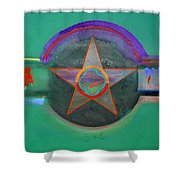 Arlington Green Shower Curtain