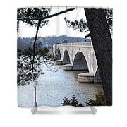 Arlington Memorial Bridge Shower Curtain