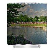 Arlington Memorial Gardens Shower Curtain