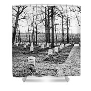 Arlington National Cemetery - C 1867 Shower Curtain by International  Images