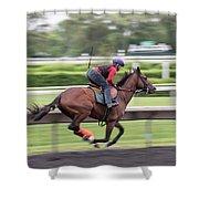 Arlington Park Racing - 5 Shower Curtain