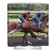 Arlington Park Racing - 7 Shower Curtain