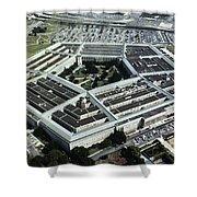 Arlington: Pentagon Shower Curtain