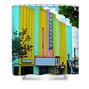 Arlington Theatre Shower Curtain