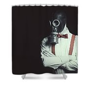 Armageddon Portrait Shower Curtain