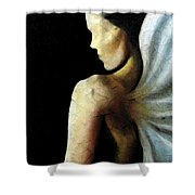 Armaita Angel Of Truth Wisdom And Goodness Shower Curtain