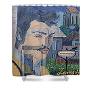 Armand On The Train Shower Curtain