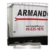 Armando Movers Shower Curtain