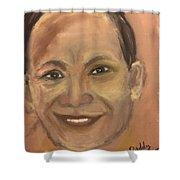 Armando S. Guangko Shower Curtain