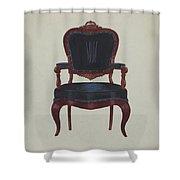 Armchair Shower Curtain