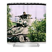 Armor Support Shower Curtain