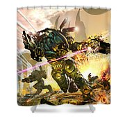 Armored Shower Curtain