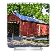 Armstrong/clio Covered Bridge Shower Curtain