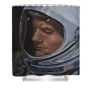 Armstrong- Gemini Viii Shower Curtain