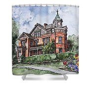 Armstrong Mansion Shower Curtain