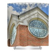 Armstrong University Tower Shower Curtain