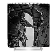 Army Airborne Series 3 Shower Curtain