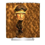 Army Guy Shower Curtain