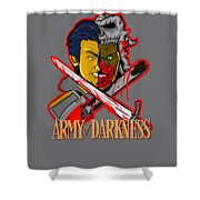 Army Of Darkness Ash Shower Curtain