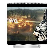Army Of Two Shower Curtain