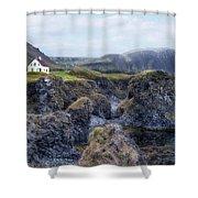Arnastapi - Iceland Shower Curtain