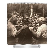 Arnie Gary And Jack Shower Curtain