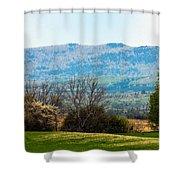 Aroostook Landscape Shower Curtain